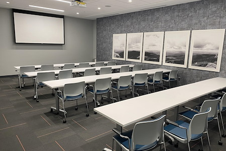 24 person Classroom Style Conference Room - Meeting Room 1