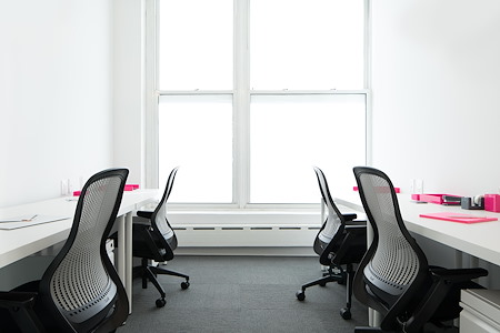 The Yard: Columbus Circle - Private Corner Office for 4 with Windows