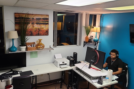 Global Presence Workspace - Office #220 - Desk A