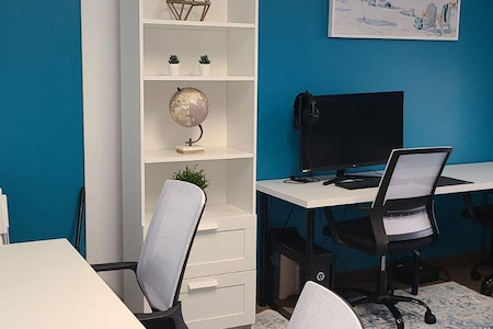 Global Presence Workspace - Office #236 - Desk D
