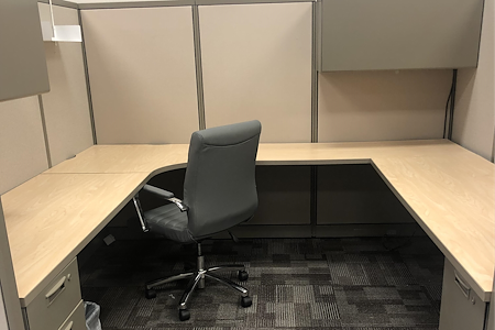 Naboso Technology - Desk 1 Cubicle (8' x 8.5')