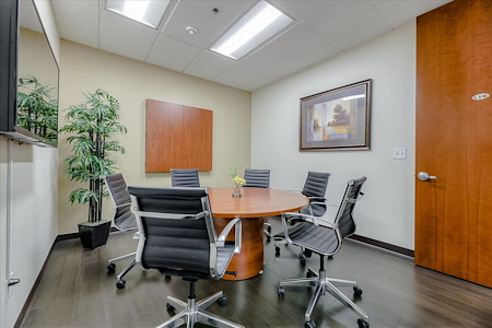 Pleasanton Workspace - Meeting Room with Round Table