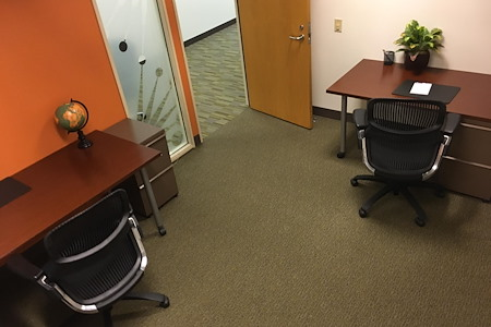 Carr Workplaces - Spectrum Center - Small Private Offices Side By Side