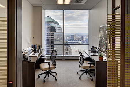 Silver Suites Offices - 4 World Trade Center - Two Window Office