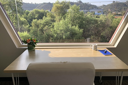 Hera Hub- Mission Valley - Bright, Beautiful Office, w/ River View