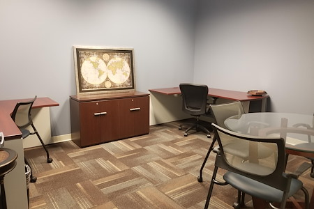 Office Evolution - Raleigh Crabtree Valley Mall - Interior executive office for 3