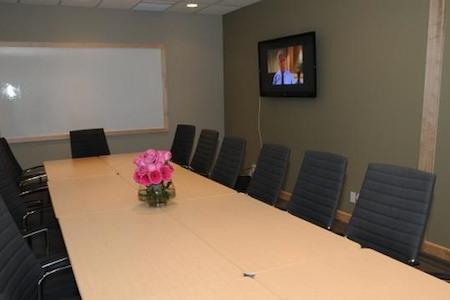 Intelligent Office Scarborough - McCowan Simcoe Boardroom