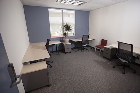 Satellite Workplace & Digital Media Studio - 4 Person Large Private Office