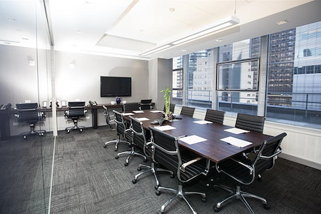 Corporate Suites: 641 Lexington Ave@54th - Window 10 Person Conference Room