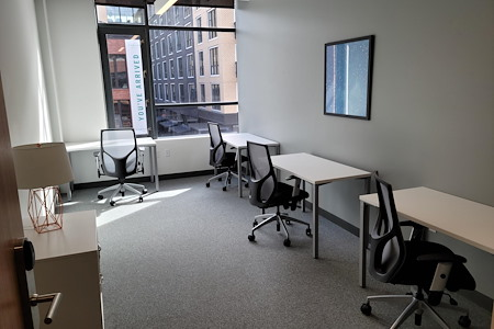 SPACES Slabtown - 6 person max window office # 2023