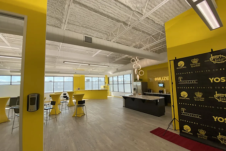 Muze Office & Event Space - Event Space Overlooking NRG Park