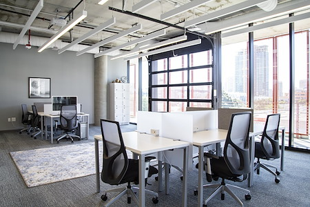 Regus- Spaces Makers Quarter - Dedicated Desk with a View