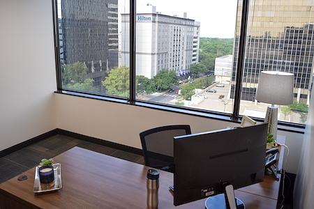 Executive Workspace @ Preston Center - Large Exterior Private Office