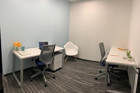 Metro Offices - Greensboro - Private 1-2 person Small Interior office