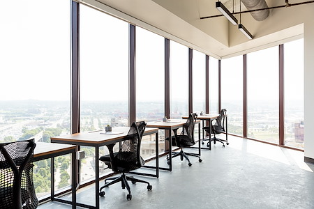 Industrious Los Angeles Wilshire and Grand - Dedicated Desk
