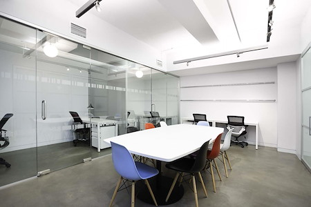 Space 530 – NYC Midtown - Private Office w 2 Inner Offices For 12