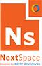 Logo of NextSpace Santa Cruz powered by Pacific Workplaces