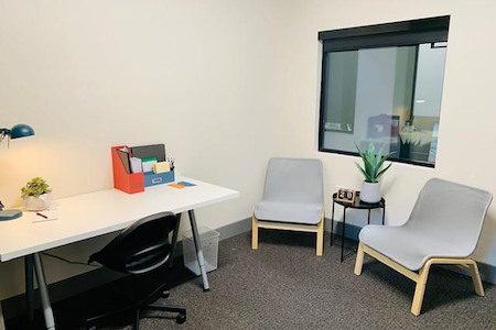 Caddo Office Reimaged Allen - Window office for 3 people