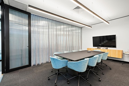 workspace365 - 607 Bourke Street, Melbourne - Murray 10 Person Boardroom