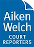 Logo of Aiken Welch Court Reporters San Francisco