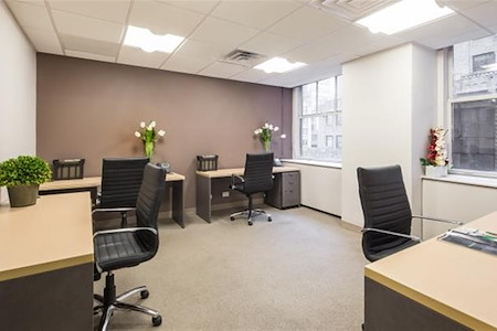 Virgo Business Centers Grand Central - Private Window Office at Grand Central!
