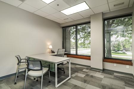 Office Evolution - Overland Park - Office 130 --Roomy, exterior window