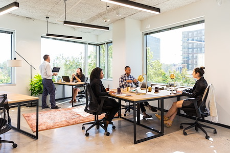 The Square with Industrious - Houston - Dedicated Office for 5