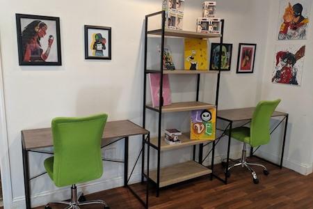 Tiffany Melius' - Perky Desk Space in Burbank