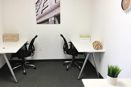 Novel Coworking Charlotte - Interior Private Office