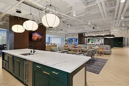 Carr Workplaces - Friendship Heights - Cafe Plan