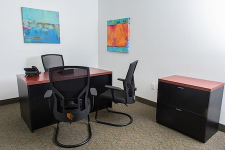 Crown Center Executive Suites (CCESuites) - Interior Private Office for 1