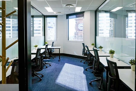 Christie Spaces Spring Street - Private 8 Desk Office with Sydney Views