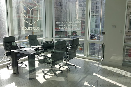 Cubico- Soho - Team Office for 4 People