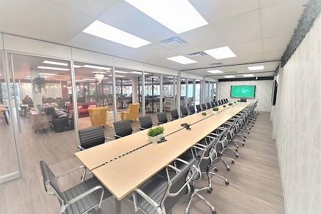 Touchdown Coworking space Inc. - Meeting Room Stike