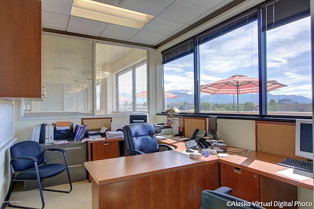 Alaska Co:Work / Northern Trust Real Estate Building - Double Office 3