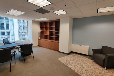 Carr Workplaces - City Center - 506 & 507: 2-Office Corner Suite: