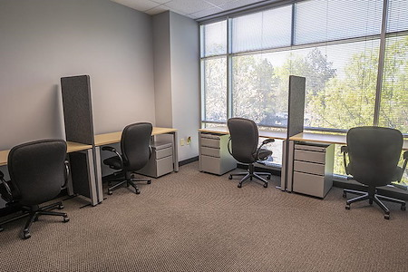 ExecuBusiness Centers - 4-person all inclusive window office