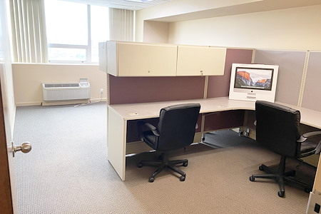 Spacious, Convenient Office Suite w/ Free Parking - Nice Office, utilities & parking include