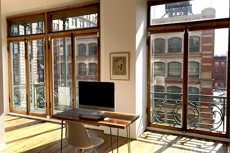 Soho Shared Space - SOHO — Sun-Drenched | Library Quiet