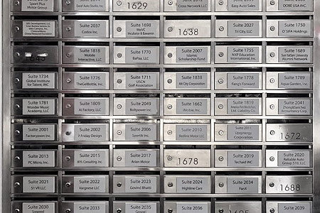 DoBe WE Co working office - Mailbox