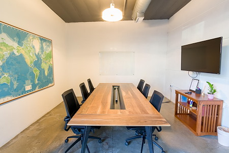 Union Cowork Glendora - Concrete Conference Room