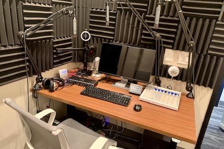Granite City Coworking - Podcast Recording Studio
