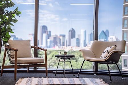Venture X | Uptown Dallas - Office 530 - views of downtown Dallas