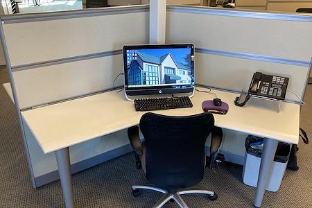 Silicon Valley Business Center - Flex Workstation