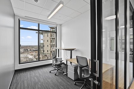 Venture X | The Realm at Castle Hills - Office Suite 304 - Window View