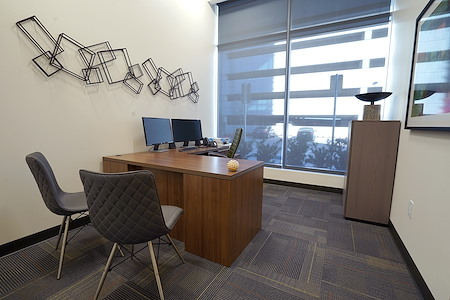 Executive Workspace - Frisco Station - Private Office