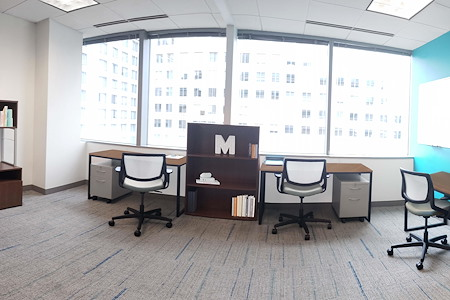 Metro Offices - One Metro Center - Private Exterior Office for up to 6 ppl