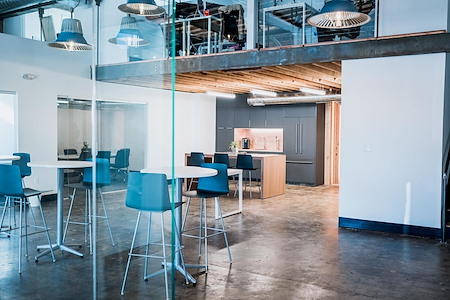 Cobalt Workspaces - Office with a glass front