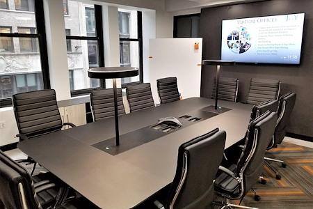 Jay Suites - Fifth Avenue - 12 Person Boardroom with Windows 50% OFF