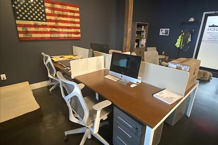 Professional / Fun Office Space - Dedicated Desk 1